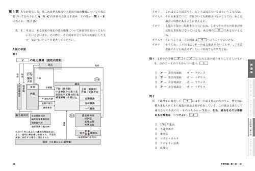 カドカワ『大学入学共通テスト世界史B予想問題集』