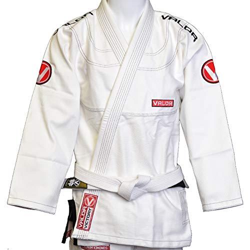 Kids Valor Victory 2.0 Premium BJJ GI GrayFREE White Belt