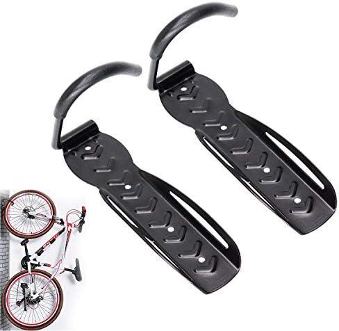Bike Hooks for Garage 2 Pack 65 lbs Heavy Duty Bike Hangers for Wall Wall Mount Hanging Hook product image