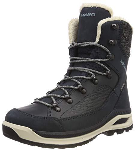 Lowa Women's RENEGADE EVO ICE GTX Ws High Rise Hiking Boots, Blue Navy 0649, 7 UK