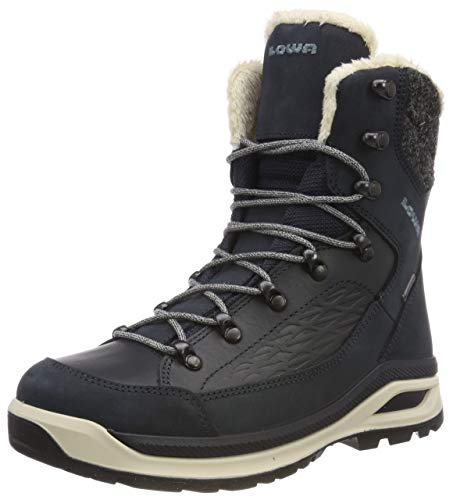 Lowa Women's RENEGADE EVO ICE GTX Ws High Rise Hiking Boots, Blue Navy 0649, 7 UK