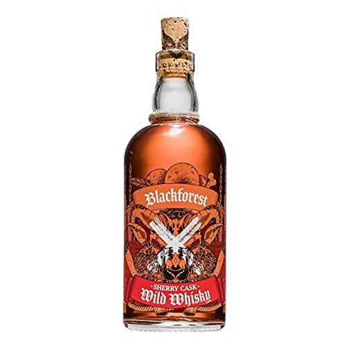 Blackforest Wild Whisky ***Sherry Cask*** 42% Vol. (1 x 0.5 l) - Brennerei Wild aus Gengenbach - 8 Jahre Sherry Cask *double wood* - Whisky des Jahres 2019