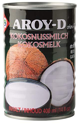 yoaxia ® - [ 400ml ] AROY-D Kokosmilch Kokosnussmilch Cocosmilch, Coconut Milk