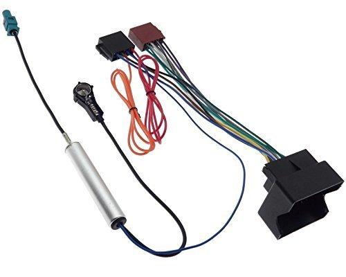 OPEL Radio Adapter Quadlock ISO Antenne Fakra Phantomeinspeisung Kabel Stecker