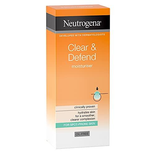 Neutrogena Clear and Defend Moisturiser, 50ml