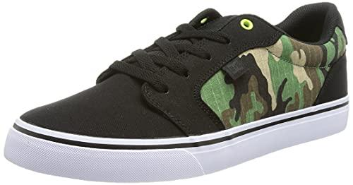 Dcshoes Anvil TX SE-Shoes for Men, Zapatillas Hombre, Negro, 44 EU