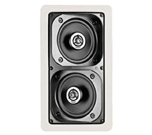 Definitive Technology UIWBP/A In-Wall/Ceiling Bipolar Surround Speaker (Single, White)
