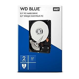 """WD Blue 2 To 3.5"""" Disque dur interne - Classe 7200 RPM, SATA 6 Gb/s, Cache de 256 Mo (B00D74G6L8)   Amazon price tracker / tracking, Amazon price history charts, Amazon price watches, Amazon price drop alerts"""