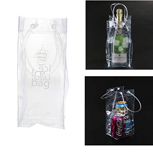 XGQ Bolsa de Hielo de PVC for Vino (Transparente)