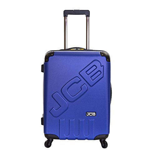 JCB Bingley Medium Hard ABS Suitcase, Royal/Black