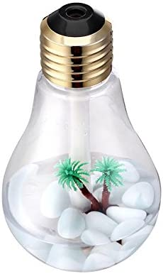 Zgood Excellence USB Bulb Shape Mini Air Humidifier Portable With Outlet SALE Light LED