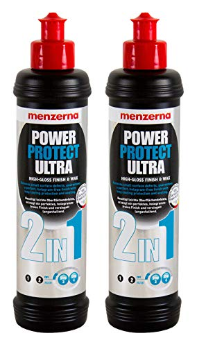 menzerna 2X Power Protect Ultra 2in1 Hochglanzpolitur Lackversiegelung 250 ml