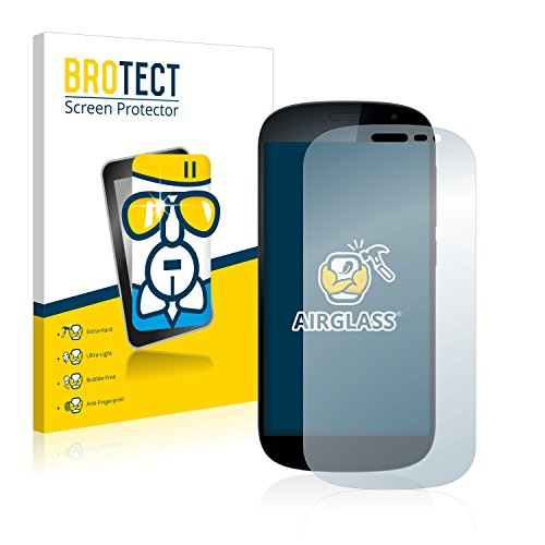 BROTECT Panzerglas Schutzfolie kompatibel mit Yota Devices YotaPhone 2 - AirGlass, extrem Kratzfest, Anti-Fingerprint, Ultra-transparent