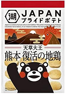 湖池屋 JAPAN PRIDE POTATO 熊本 復活の地鶏 58g