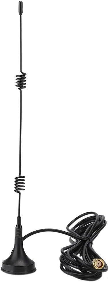 fosa1 8dBi High Gain 2.4GHz WiFi Wireless Network Antenna RG174 SMA Internal Thread Internal Pin for Wireless Module Router Network Card ZigBee(10m)