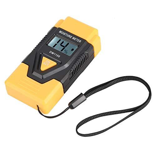 Digitale vochtmeter, houtvochtigheidsmeter, digitale hygrometer, LCD-display, voor het meten van luchtvochtigheid, uitgehard snijhoutmateriaal, kamertemperatuur