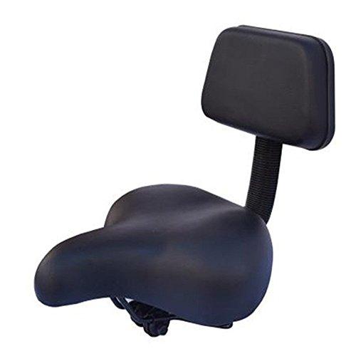 MiYan Fahrradsattel Tragbarer Komfort-Fahrradsitz für Damen und Herren, Komfort Gesunder Gel-Fahrradsattel Gepolsterter breiter Sitzbezug