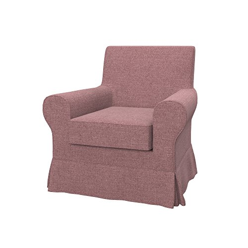 Soferia Bezug fur IKEA EKTORP JENNYLUND Sessel, Stoff Naturel Coral