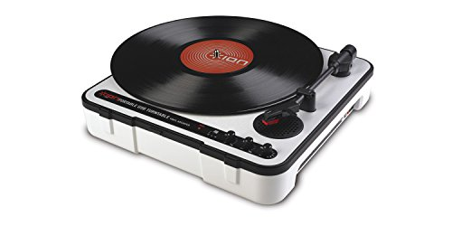 Ion Audio iPTUSB Portable USB Turntable with Software and Built-in Speaker