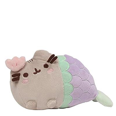 """Gund Pusheen Mermaid Stuffed Cat Plush, 7"""""""