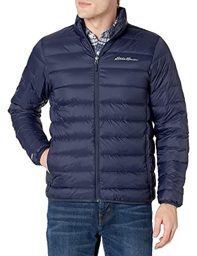 Calvin Klein Men's Packable Down Hoody Jacket, Rich Indigo, X-Large