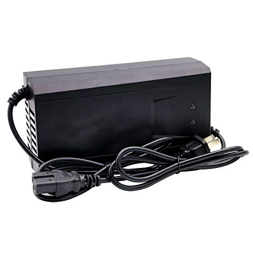 MXBIN 48V 12AH Scooter Cargador de batería Adaptador de Cargador de Corriente...