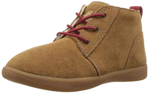 UGG baby girls Kristjan Chukka Boot, Chestnut, 9 Toddler US