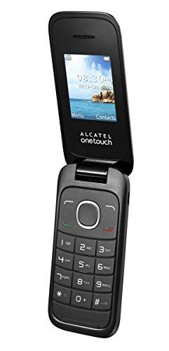 Alcatel Onetouch 10.35X 1.8 75g Negro, Gris Teléfono básico - Teléfono móvil (SIM única, 4,57 cm (1.8'), 128 x 160 Pixeles, 500 mAh, Negro, Gris)
