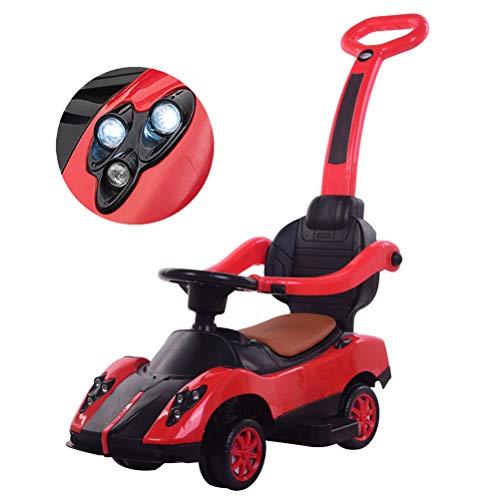 Weneye Kinder Rutschauto, 2 in 1 Kinderauto,Multifunktions-Allrad-Babyschubwagen,Spielzeugauto, Baby-Roller,...