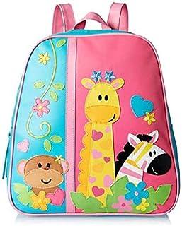 Stephen Joseph Zoo Go Go Backpack for Kids, Multi Color