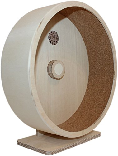 Ø 30 cm Getzoo Premium Korklaufrad (Ø 28,4 cm Innen, Höhe 32-44cm)