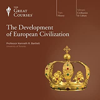 The Development of European Civilization audiobook cover art