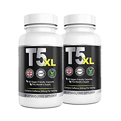 T5 XL Fat Burner for Men and Women |120 Capsules 4 Month Supply | High Quality Supplement |Vegetarian Friendly | UK Manufactured | Well Known Trusted Brand Natural Answers from Natural Answers