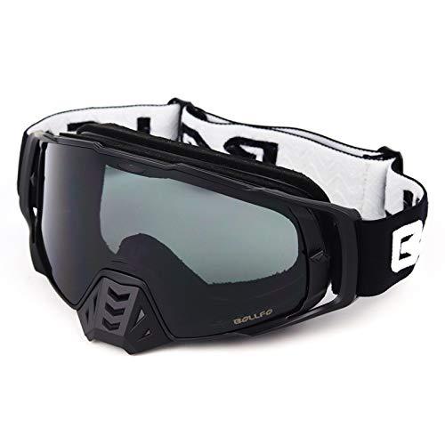 HONCENMAX Motocicleta Gafas de Protección - para Moto Motocross Ciclismo Esqui...