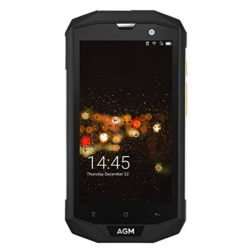 AGM A8 Rugged Smartphone Android 7.0 Dual IMEI 4G Quad-Core CPU 4GB RAM 5' IPS
