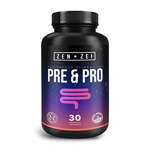 ZZ | PRE & PRO BIOTIC | Simbiótico = Prebiótico y Probiótico — 25 Billones de UFC's Vivos — Formulado: