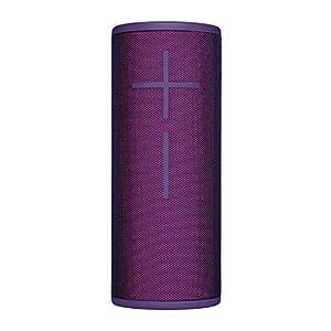 Ultimate Ears, BOOM 3 Wireless Bluetooth Speaker, Bold Sound + Deep Bass, Bluetooth, Magic Button, Waterproof, 15-Hour Battery, Range of 150 Ft, Ultraviolet Purple from Ultimate Ears