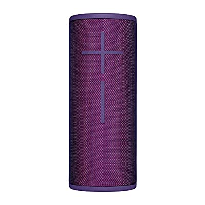 Ultimate Ears, BOOM 3 Wireless Bluetooth Speaker, Bold Sound + Deep Bass, Bluetooth, Magic Button, Waterproof, 15-Hour Battery, Range of 150 Ft, Ultraviolet Purple from Ultimate Ears