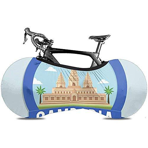 『Sweet-Heart自転車ホイールカバー、保護ギアタイヤバイクカバー-寺院アンコールカンボジア旅行とツアーデザインコンセプトワットアーキテクチャ』のトップ画像