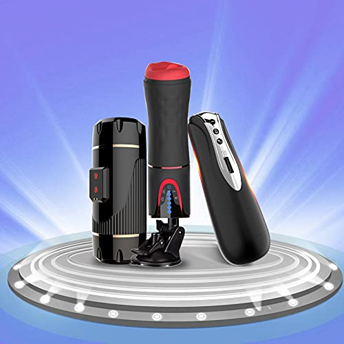 Masajeador de presión de aire - Masajeador eléctrico de motores dobles - Masajeador automático de 10 modos - Función de voz