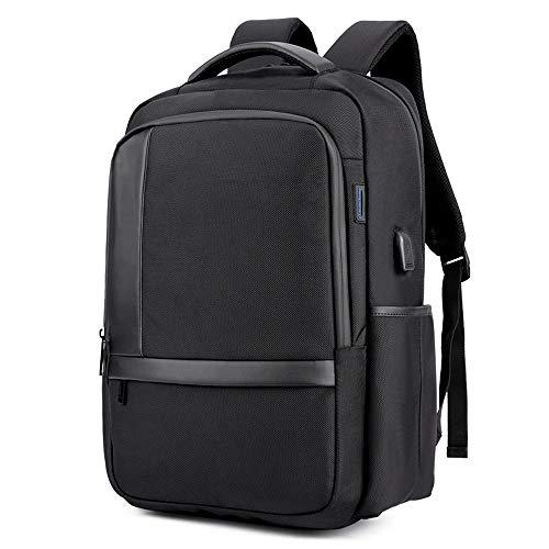 Angle-w diseño elegante, viajes sencillos, Bolso del ordenador portátil del USB de los hombres mochila bolsa de Oxford tela impermeable transpirable mochila de viaje de los hombres, resistente al agua