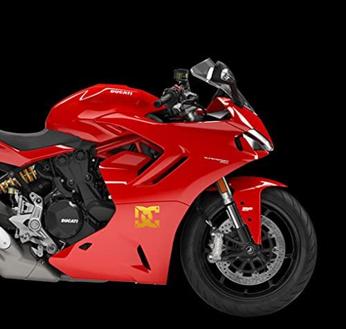 Adhesivos DC para moto, porta cascos, coche, moto, muebles, escúter, PC,...