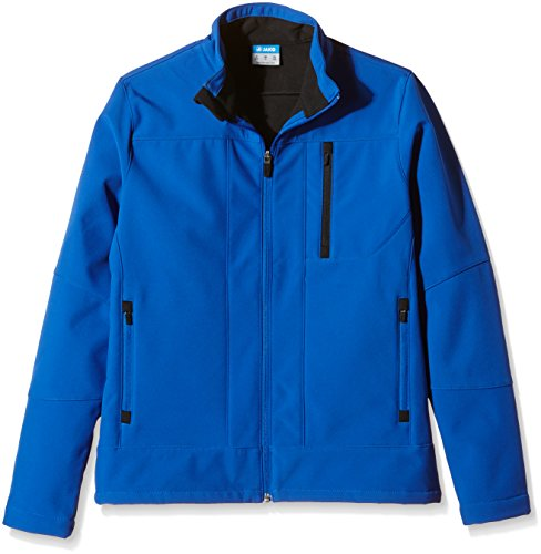 JAKO Softshelljacke Team, Royal/Schwarz, 164