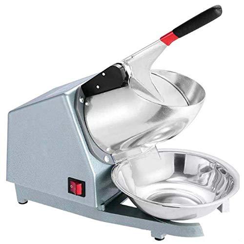 Elektrische Ice Crusher Shaver Schneekegelmaschine Silber FÜR Den Privaten Und Kommerziellen Gebraucheis-Zerkleinerer,220v, Silber