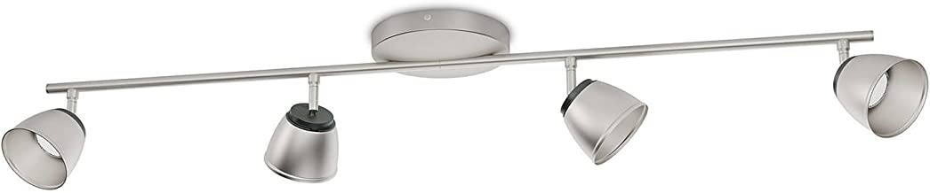 Philips – LED Spotlight Chrome County – Indoor Use., Metal, Chrome, 15,6 x 98,8 x 16 cm