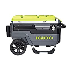 igloo cooler with wheels