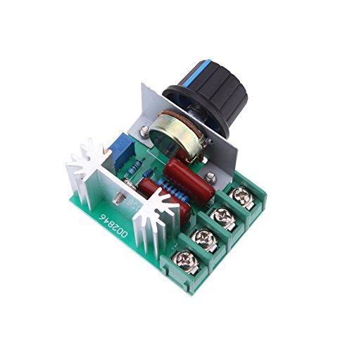 KKmoon - 2000W AC50-220V SCR Módulo Regulador de Voltaje Electrónico de Alta Potencia