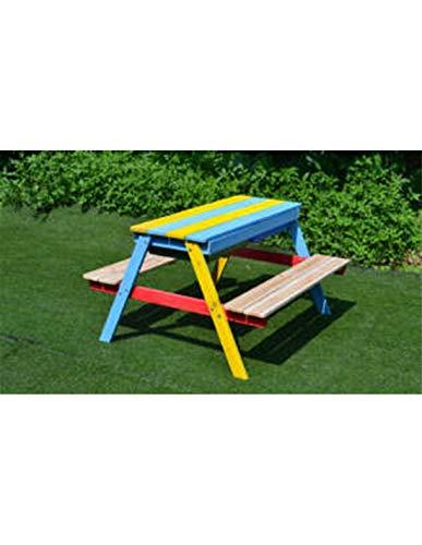 Faura Picknicktisch für Kinder mit Sandkasten