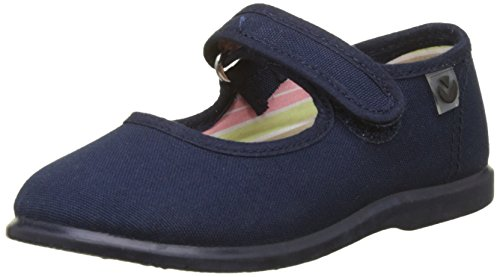 Victoria Mercedes Velcro Lona, Zapatillas Unisex niños, Azul (Marino), 20 EU