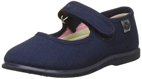 Victoria Mercedes Velcro Lona, Zapatillas Unisex Niños, Azul (Marino), 24 EU